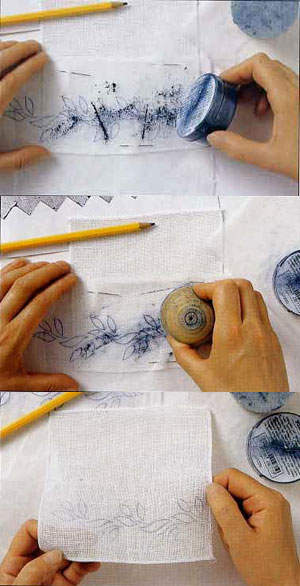 Перевод изображения вышивка