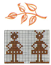 Составление узоров для вышивания