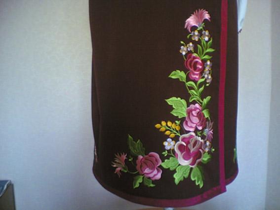 Женская юбка, Украинский национальный костюм